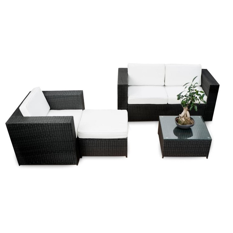 loungem bel balkon anthrazit haus ideen. Black Bedroom Furniture Sets. Home Design Ideas