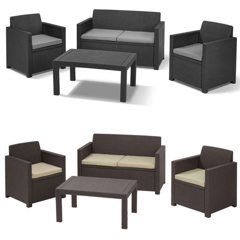 allibert gartenm bel wei haus ideen. Black Bedroom Furniture Sets. Home Design Ideas