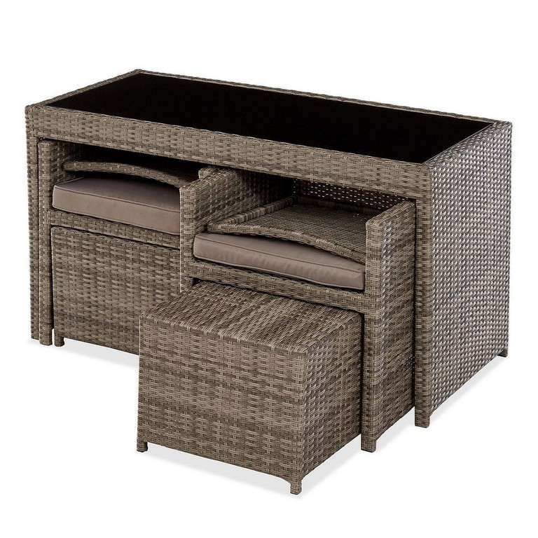 rattan gartenm bel platzsparend haus ideen. Black Bedroom Furniture Sets. Home Design Ideas