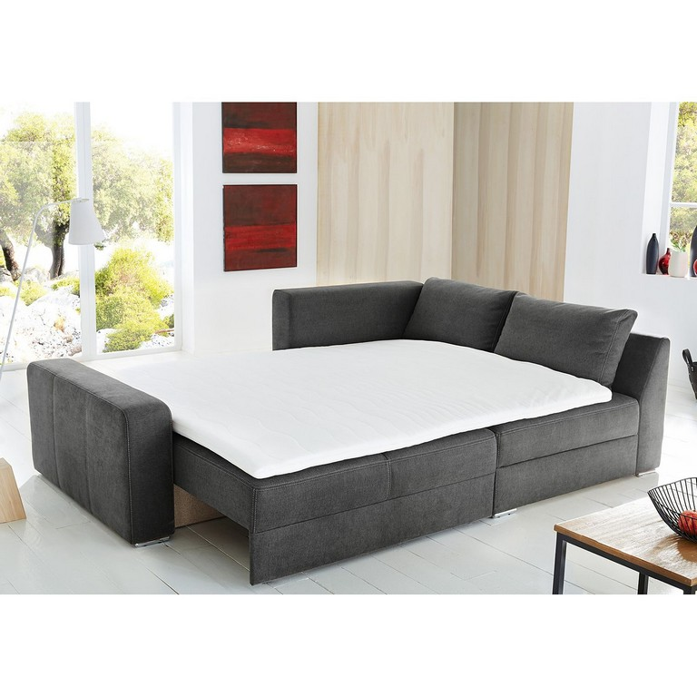 boxspring sofa mit bettfunktion haus ideen. Black Bedroom Furniture Sets. Home Design Ideas