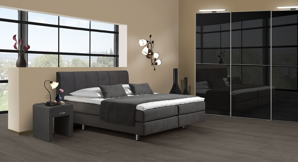 schlafzimmer komplett boxspring haus ideen. Black Bedroom Furniture Sets. Home Design Ideas
