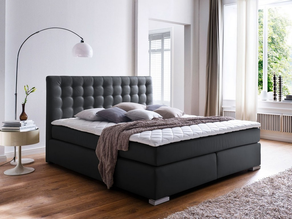 m bel eins boxspringbetten haus ideen. Black Bedroom Furniture Sets. Home Design Ideas
