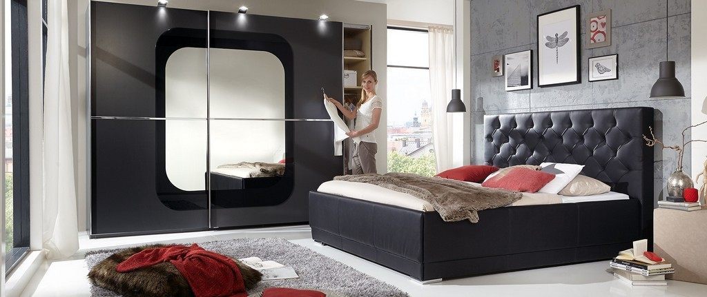 billiges schlafzimmer komplett haus ideen. Black Bedroom Furniture Sets. Home Design Ideas
