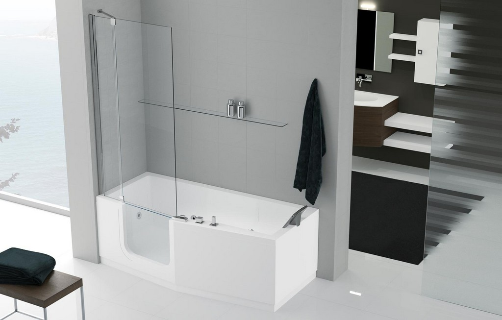barrierefreie badewanne mit t r preis haus ideen. Black Bedroom Furniture Sets. Home Design Ideas