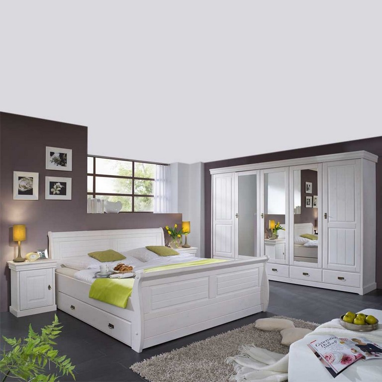 schlafzimmer landhaus wei g nstig haus ideen. Black Bedroom Furniture Sets. Home Design Ideas