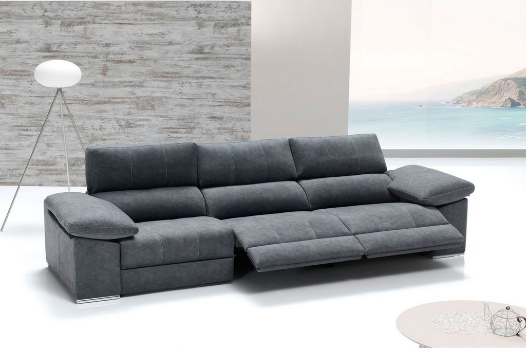 sofas 4 plazas relax electrico haus ideen. Black Bedroom Furniture Sets. Home Design Ideas