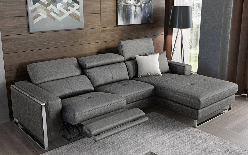 sofa mit verstellbarer r ckenlehne haus ideen. Black Bedroom Furniture Sets. Home Design Ideas