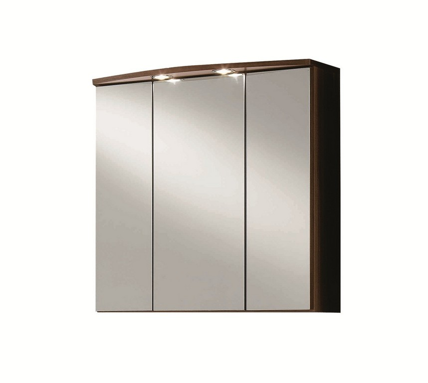 Bad Spiegelschrank Pisa 3 Trig 70 Cm Breit Nussbaum Bad pertaining to size 1788 X 1600