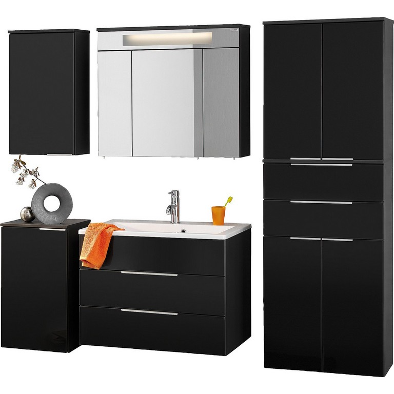 fackelmann badm bel kara hochschrank haus ideen. Black Bedroom Furniture Sets. Home Design Ideas