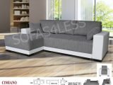 Cimiano Leather Fabric Corner Sofa Z Funkcja Spania Bed Storage with regard to size 1000 X 808