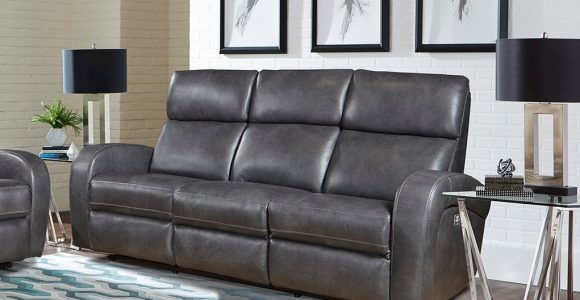 Fossil Gray Leather Match Power Reclining Sofa Mercury Rc Willey throughout measurements 1021 X 1021