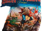 Iron Maiden Trooper 135x200cm Bettwsche Neu Baumwolle Eur 3990 within dimensions 1000 X 1000