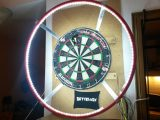 Led Dart Board Beleuchtung Fr Steel Darts Selbst Gemacht intended for size 1024 X 768