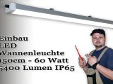 Led Leuchte Fr Garage Carport 150cm Montage Und Installation pertaining to size 1920 X 1080