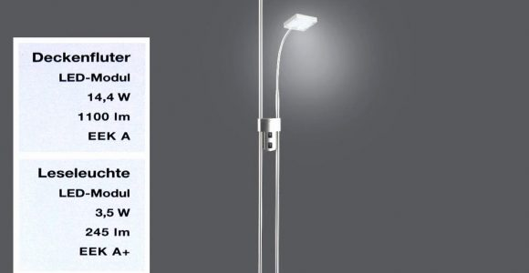Led Stehlampe Mit Leselampe Dimmbar Schn Fantastische Ideen Led throughout size 1000 X 1000