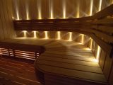 Sauna Led Beleuchtung Sun Gold Warmwei Saunainter pertaining to size 1208 X 800